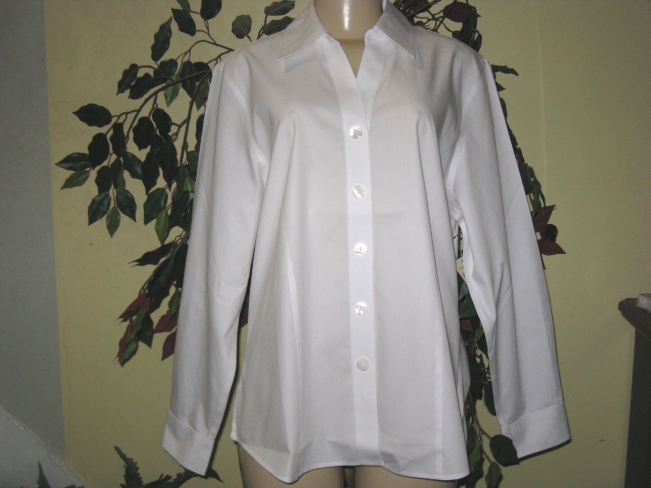 White No Iron Blouses 41