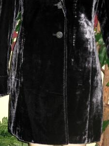 Women's Winter Velvet long duster Jacket Coat Coldwater ...