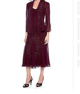 New Richards Women39s Beaded Jacket Dress  15324847  Overstockcom