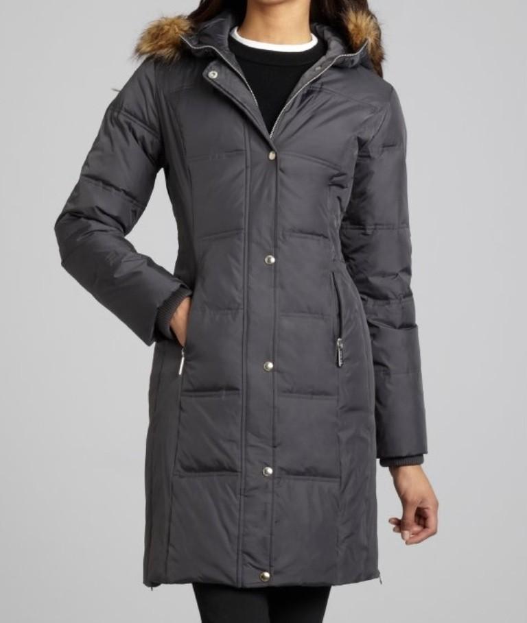 michael kors women 39 s winter parka quilted faux fur hooded coat jacket plus 2x 3x ebay