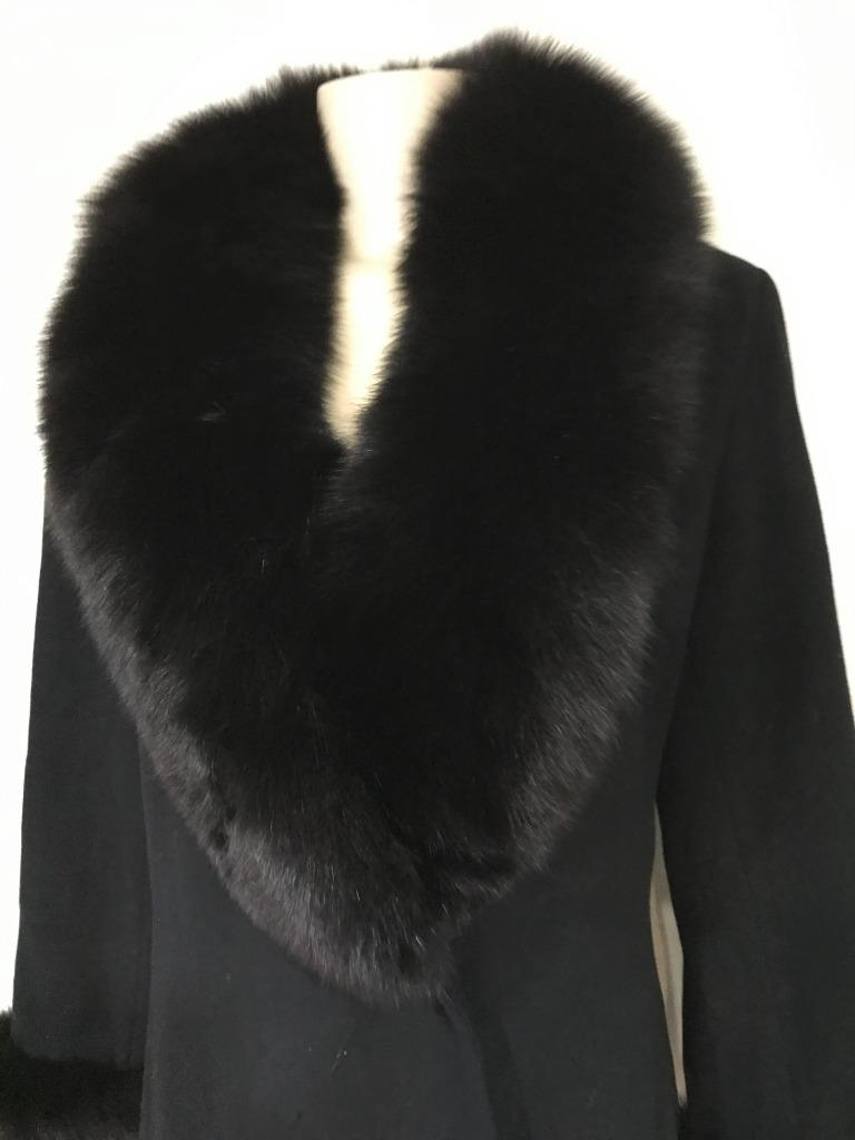 Marvin-Richards-women-039-s-winter-black-fox-