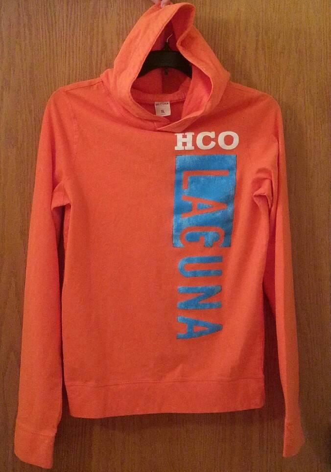 hollister nwt mens pullover logo tshirt hoodie100