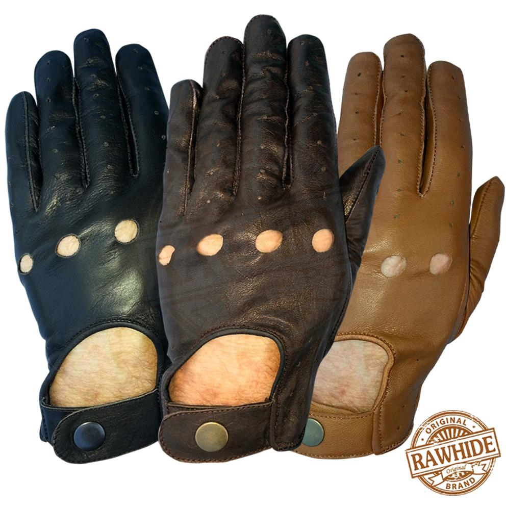Leather driving gloves on ebay - Goat Leather Palms With Forway Stretch Back Glove For An Excellent Fitting Glove Thats Suitable For Lots Of Uses