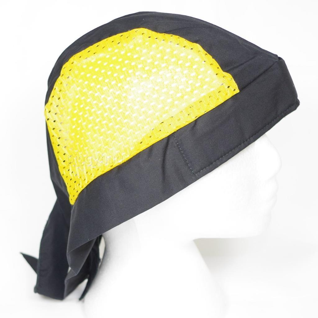 skull cap hat do du doo rag w cooling air holes stretch