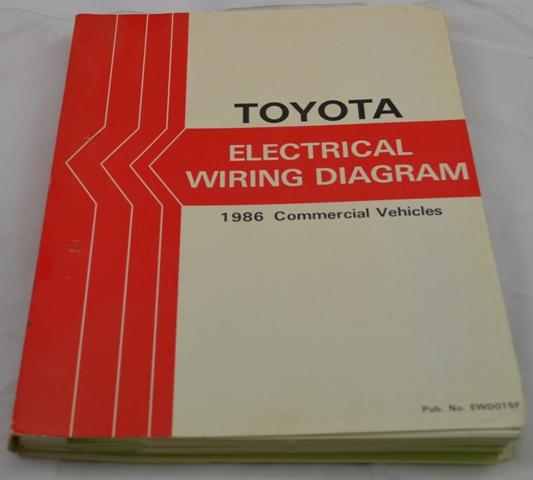 Toyota Electrical Wiring Diagram 1986 Commercial Land ...