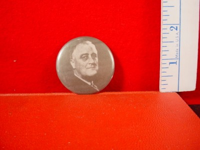 103 FRANKLIN D ROOSEVELT (1995) Vintage Pinback Button Pin