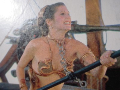 Carrie Fisher Slave Girl