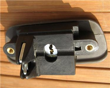 Daewoo Leganza Glove Box Latch 99 02 Glovebox Lock Brown