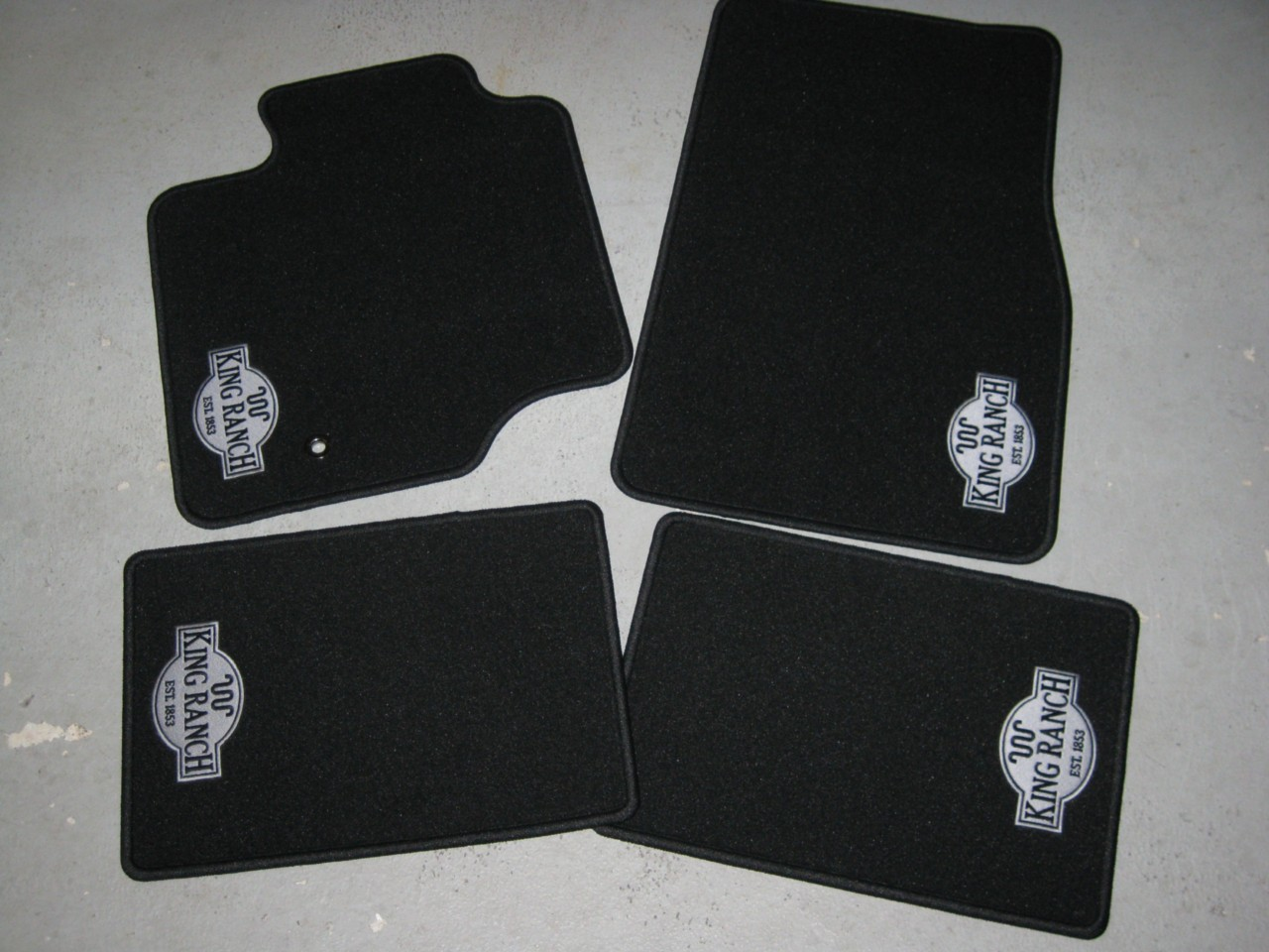 Rubber floor mats expedition - Ebay Image Hosting At Www Auctiva Com