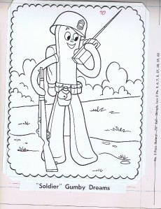 printable gumby coloring pages - photo#12