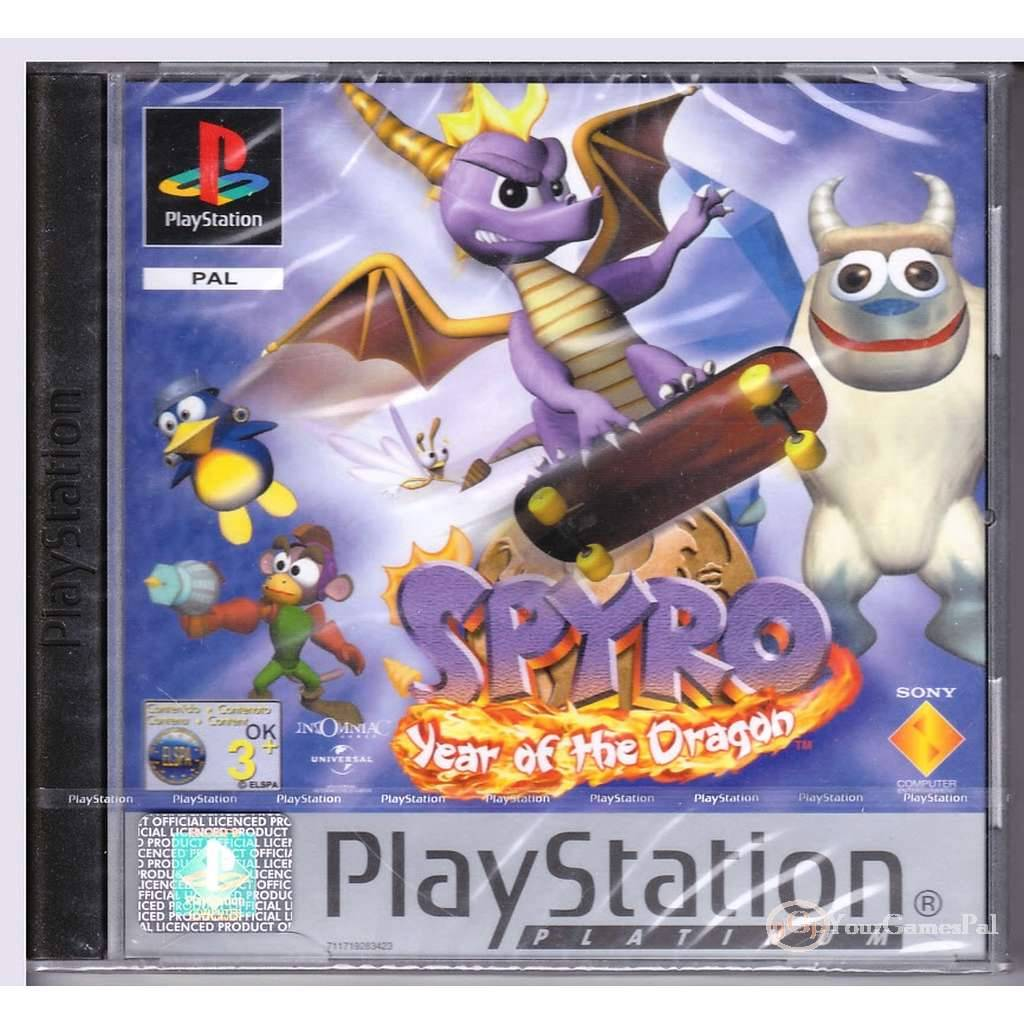 playstation 1 spyro year of the dragon pal ps1 brand new