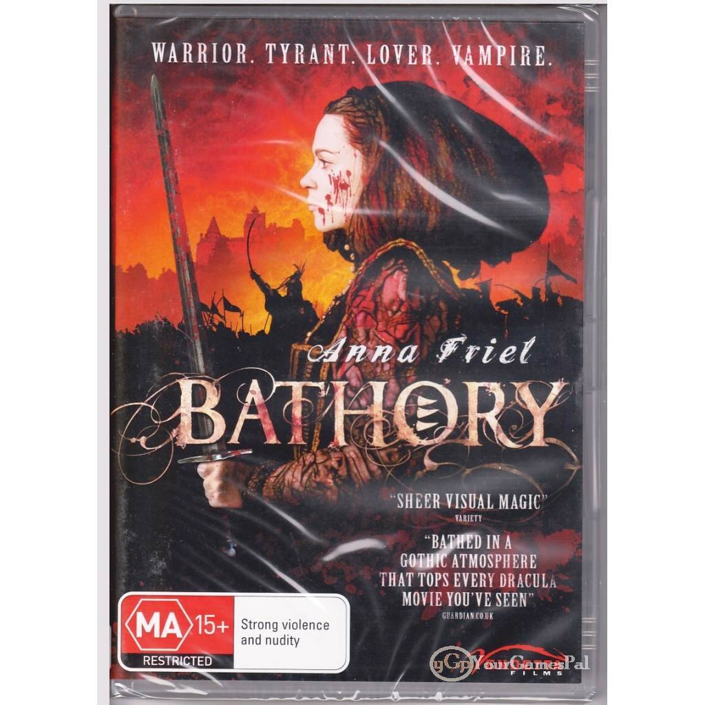DVD-BATHORY-COUNTESS-OF-BLOOD-Anna-Friel-Horror-History-Based-Murderer-R4-BNS