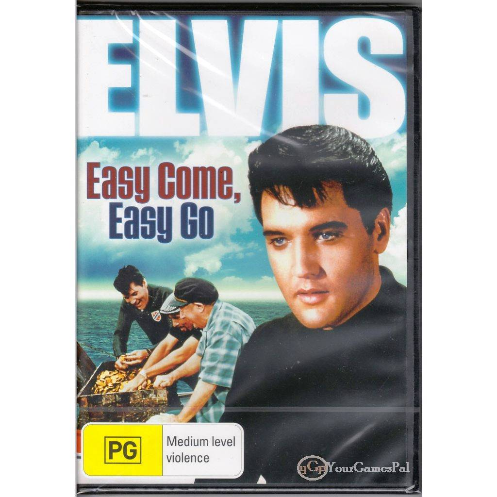 DVD-ELVIS-EASY-COME-EASY-GO-Presley-Dodie-Marshall-67-COMEDY-MUSIC-ADV-R4-BNS