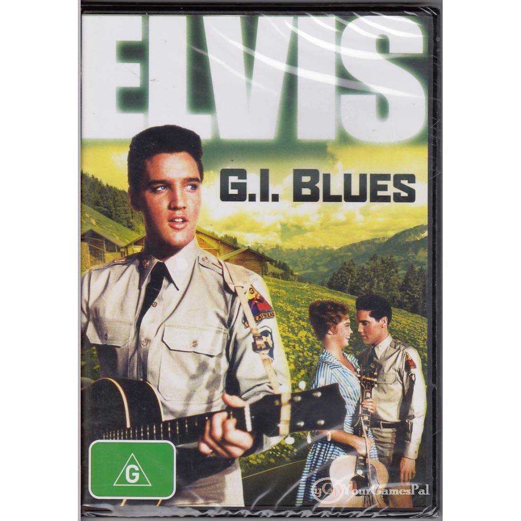 DVD-ELVIS-G-I-BLUES-Presley-Juliet-Prowse-G-I-G-I-1960-COMEDY-MUSIC-R4-BNS