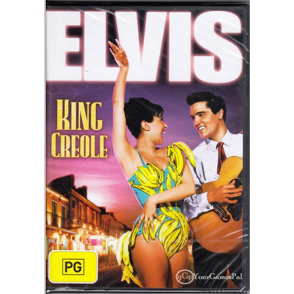 DVD-ELVIS-KING-CREOLE-Presley-Carolyn-Jones-1958-DRAMA-CRIME-MUSIC-B-W-R4-BNS