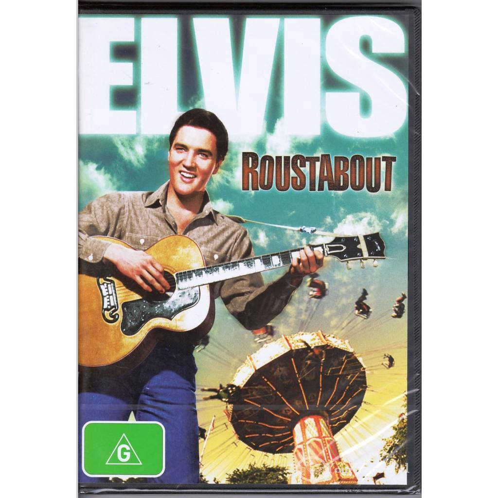 DVD-ELVIS-ROUSTABOUT-Presley-Barbara-Stanwyck-1964-DRAMA-MUSIC-ROMANCE-R4-BNS