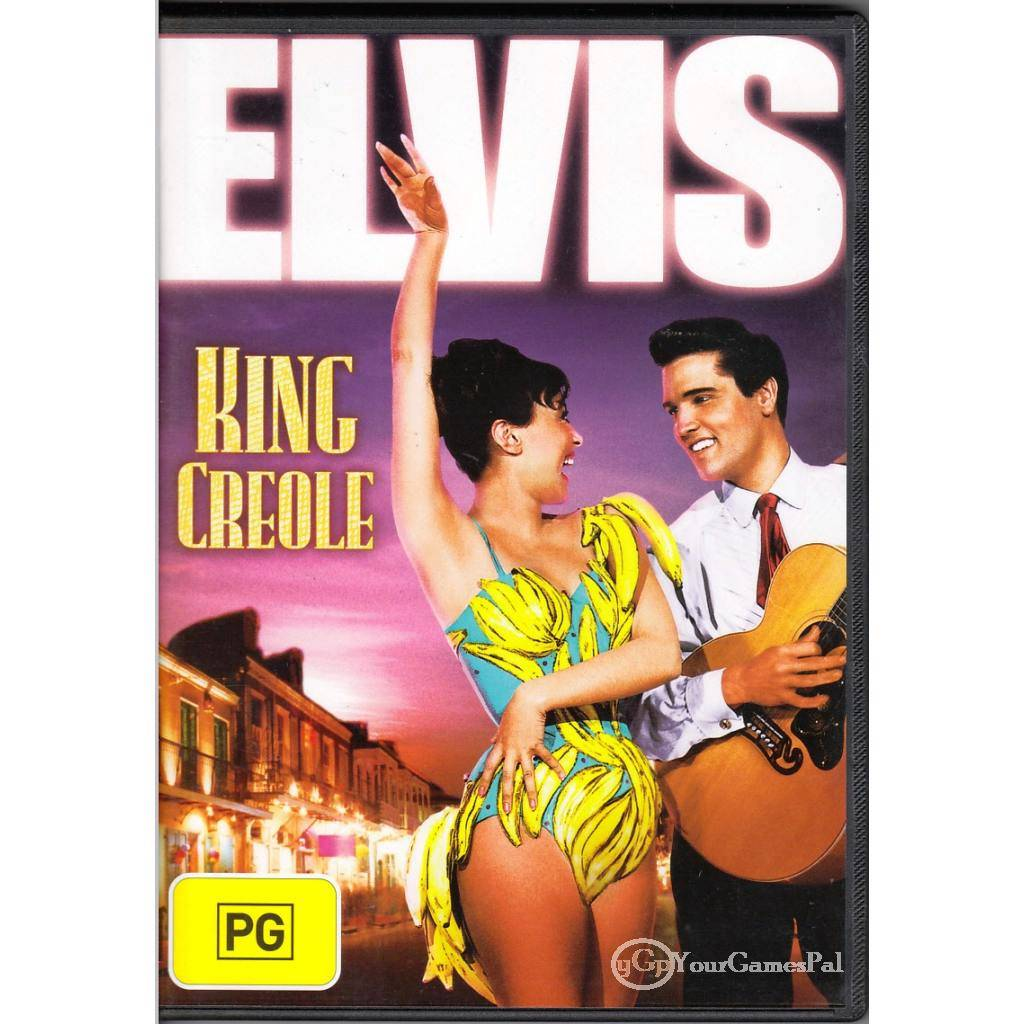 DVD-ELVIS-KING-CREOLE-Presley-Carolyn-Jones-1958-B-W-R4-BRAND-NEW-NOT-SEALED-BN