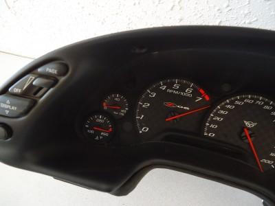 2003 Chevrolet C5 Corvette Z06 Instrument Gauge Cluster Speedometer Tachometer