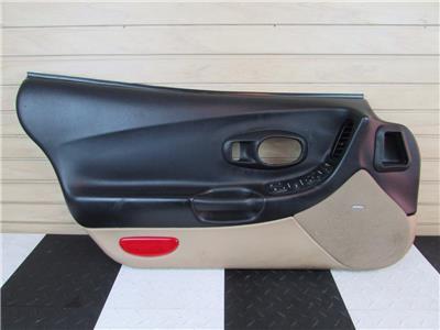 2003 c5 z06 corvette interior door panel black tan left - C5 corvette interior door panels ...