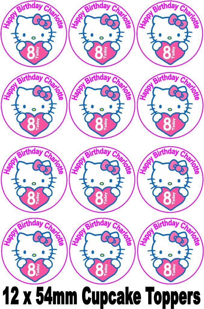 Hello Kitty Cake Decorations Uk