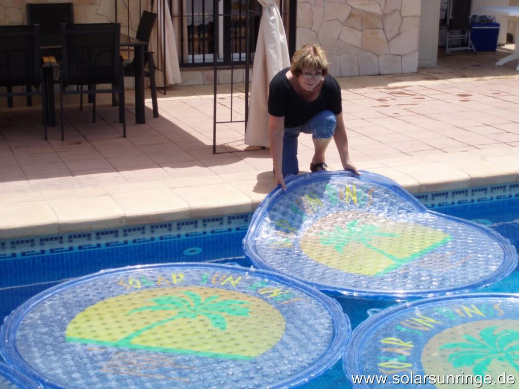 schwimmbad heizung pool heizung solar sun rings ebay. Black Bedroom Furniture Sets. Home Design Ideas