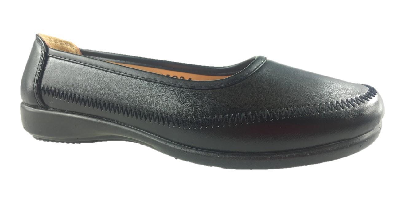Señoras Dr Lightfoot Cuña Baja Comodidad Informal Trabajo Zapatos Negro Uk 3-8