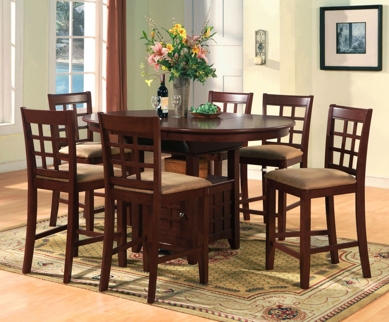 Magnificent Bar Height Dining Table Set 1239 x 1024 · 288 kB · jpeg