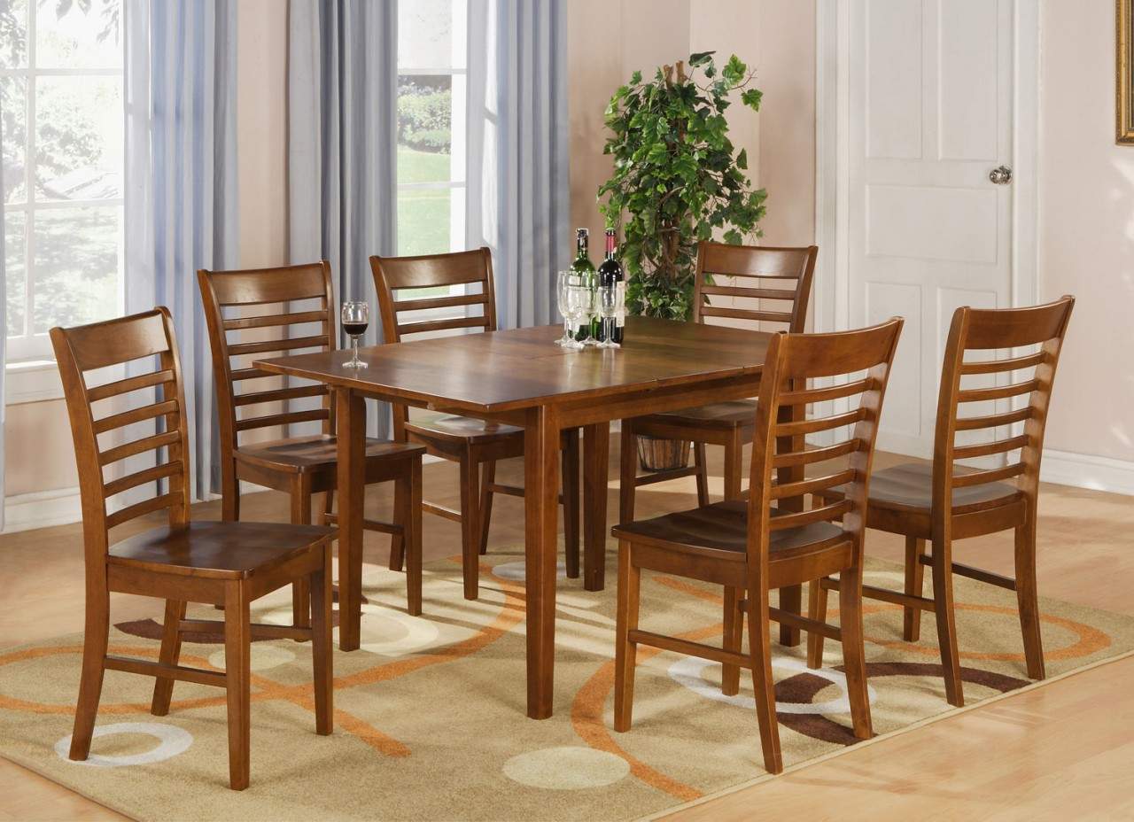 Rectangular dinette kitchen dining table 36 x54 with 12 for Dining room tables 38 inches wide