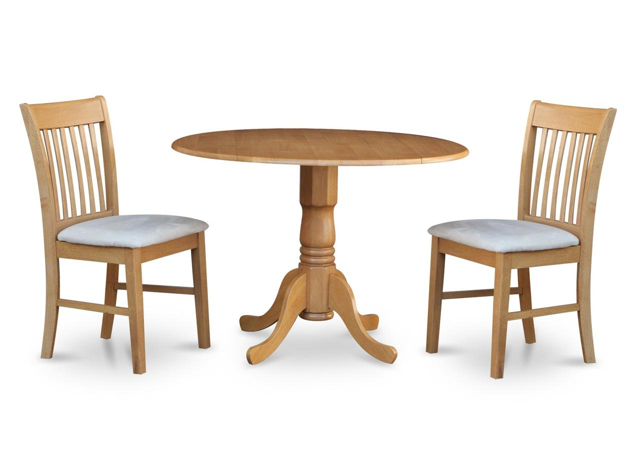 3pc Round Dinette Kitchen Dining Table w 2 Microfiber  : 651799483o from www.ebay.com size 1280 x 926 jpeg 66kB