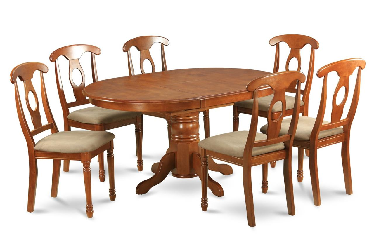 recommended dark wood oval dining table and chairs