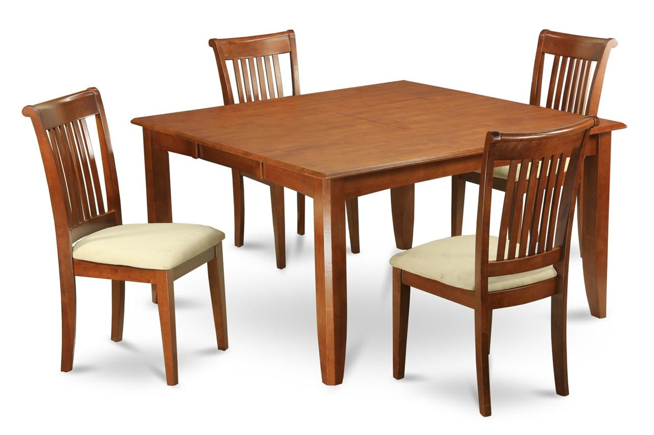 set square dinette kitchen dining set table with 8 upholstered chairs