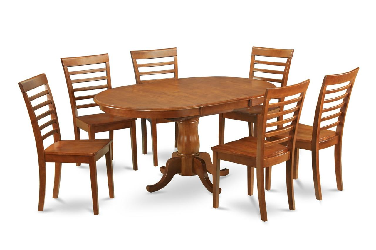 Dining Table: 5pc Dining Table Chairs & Bench Set