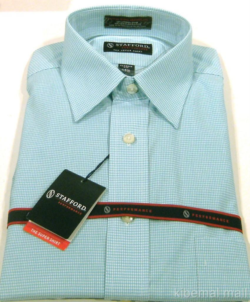stafford men 39 s performance dress super shirt classic fit