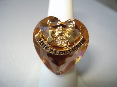 Trendy Fashion Rings on Juicy New Ring Heart Crystal Fashion Trendy Soho Urban Korea Fashion