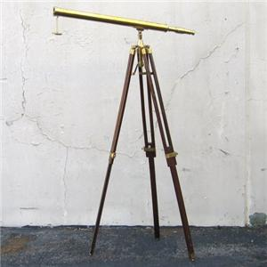 Brass Nautical Telescopes Harbormaster Tripod