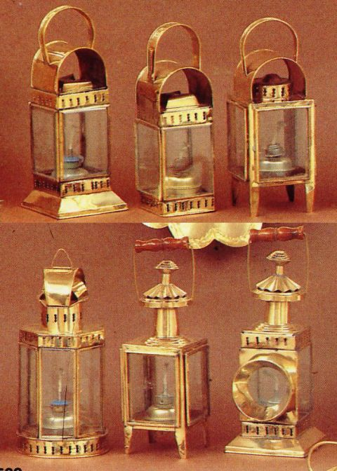 Boat Ship Lanterns Oil Solid Brass Nautical Lamps