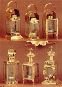 Ship Brass Oil Lanterns Nautical Lamps Blackout