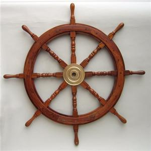 Wooden Boat Pirate Ship Steering Wheels