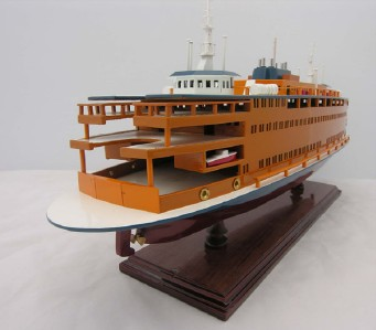 Ship Model Ferry Passenger Boats