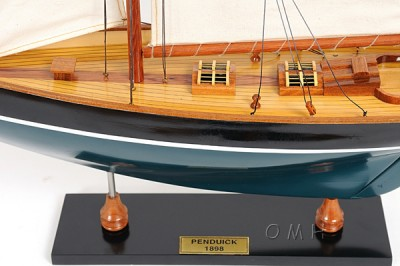 Wooden Scale Display Model Sailboats Yachts