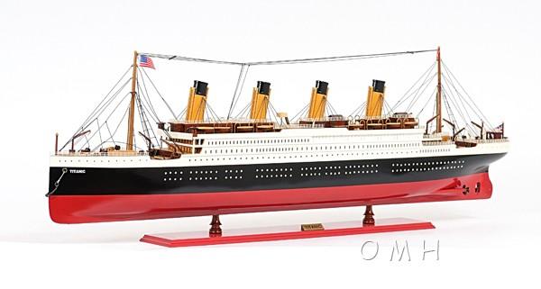 Titanic Ocean Liner Wooden Model