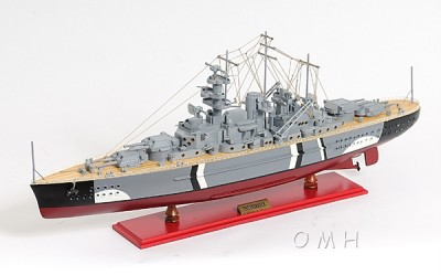 Wooden Scale Model Battleships Warships