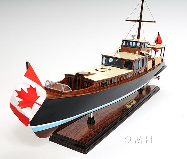 Wooden Scale Model Motor Yachts