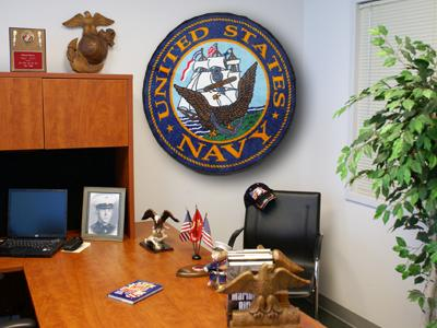 Military Seal Ball Rugs Mats