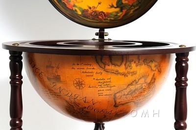 Old World Globe Wine Bars