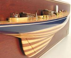 Half Hull Boat Sailboat Models