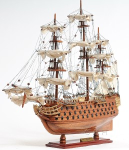 HMS Victory Tall Ship Wood Flagship Model