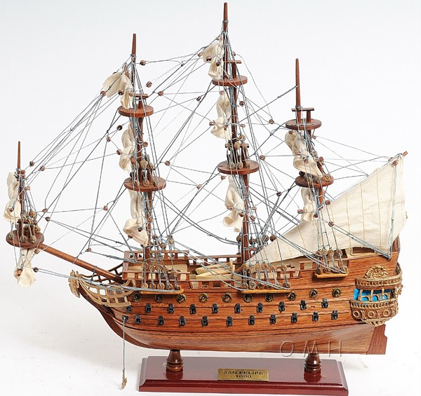 #2 San Felipe Model Tall Ship, Best Seller! San Felipe Spanish Galleon 3 Sizes Starting @$107.99
