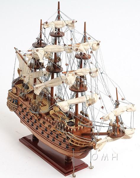 Spanish Galleon San Felipe Model Tall Ship