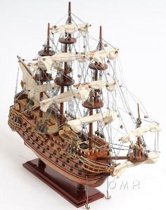 San Felipe Spanish Galleon Tall Ship Wood Model
